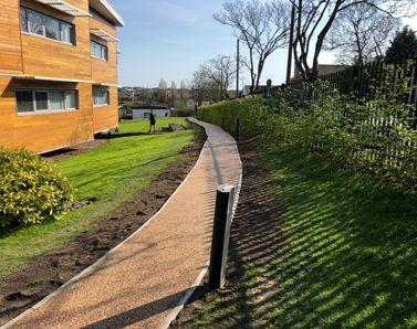 Resin pathway Suffolk